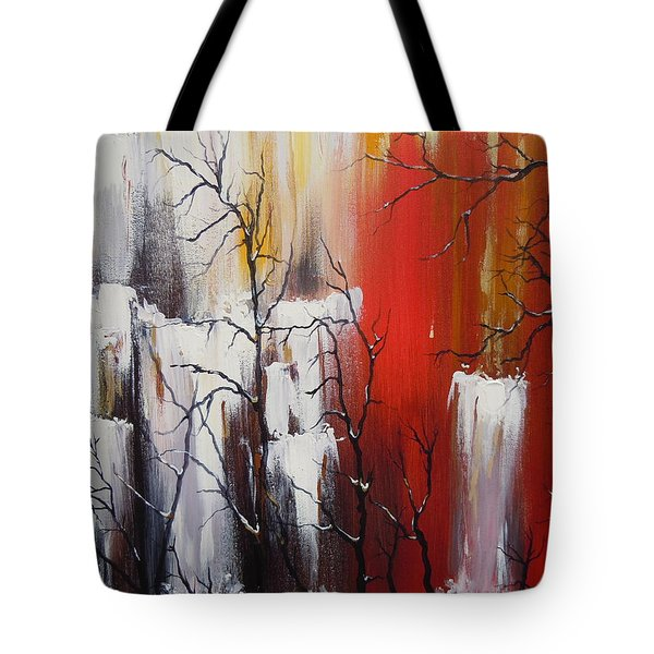 Valley Of Shadows Tote Bag by Dan Whittemore