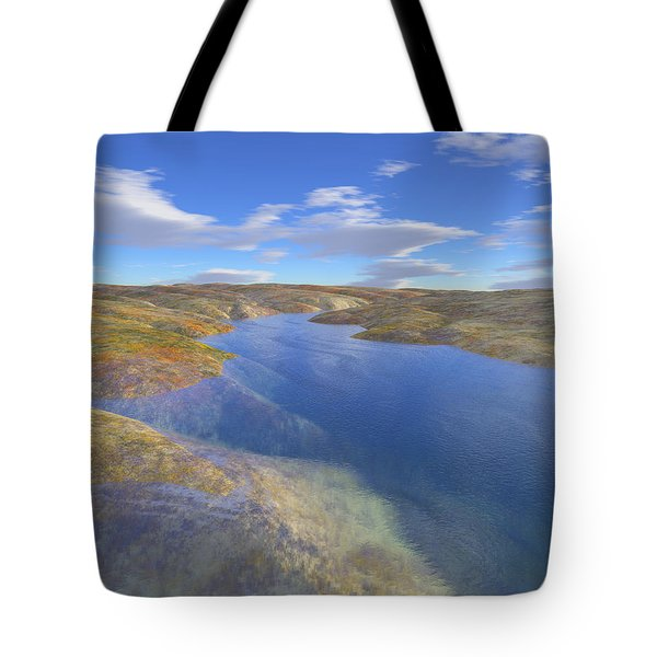 Valley Stream 2 Tote Bag by Mark Greenberg