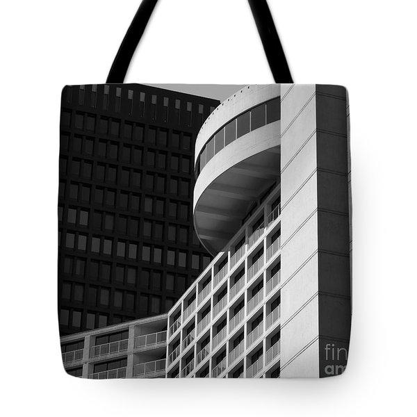 Vancouver Architecture Tote Bag by Chris Dutton