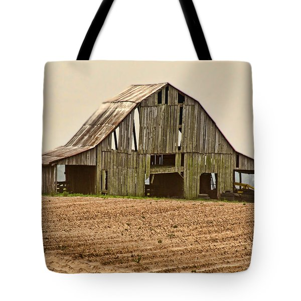Tote Bag featuring the photograph Vanishing American Icon by Debbie Portwood