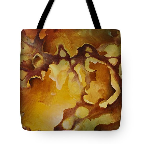 'vanishing Point' Tote Bag by Michael Lang