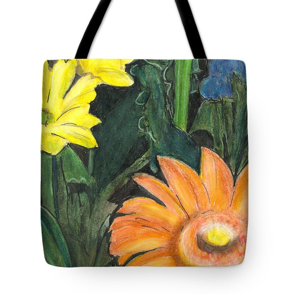 Vasco's Flowers Tote Bag