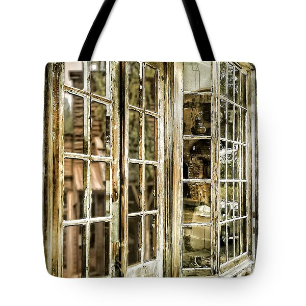 Vc Window Reflection Tote Bag by Susan Kinney