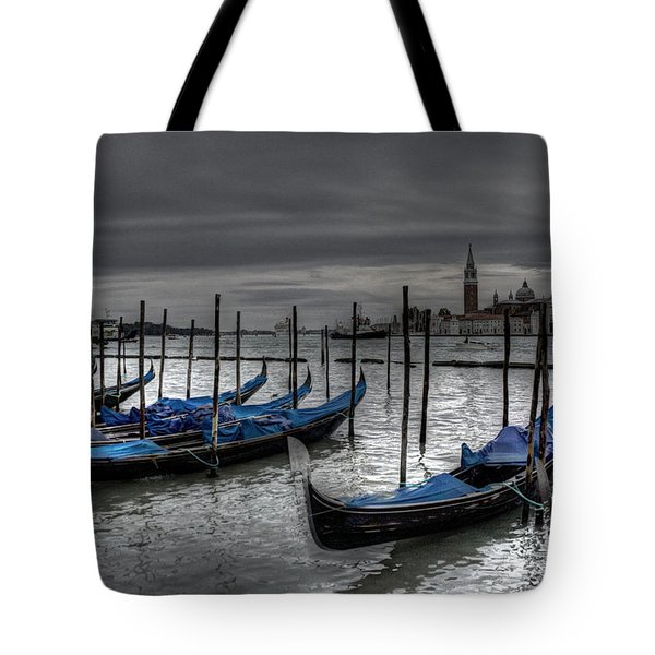 Venice Gondolas  Tote Bag
