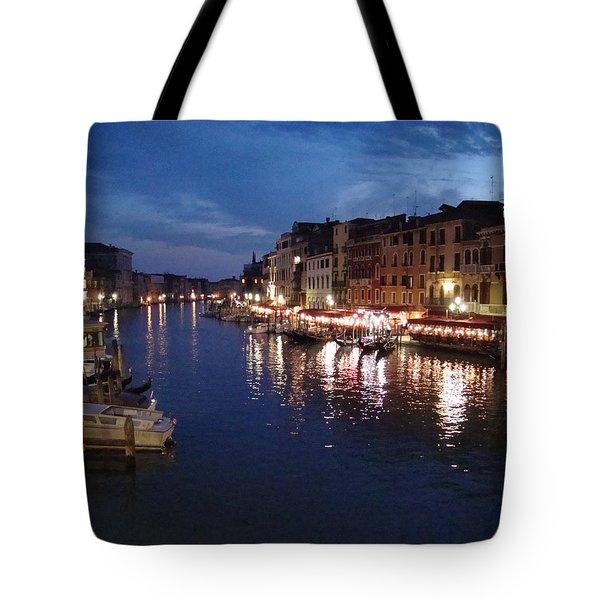 Venice Tote Bag by Marta Cavazos-Hernandez