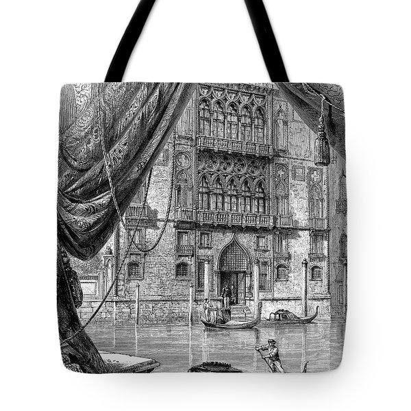 Venice: Palazzo Cavalli Tote Bag