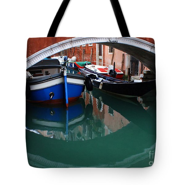 Venice Reflections 2 Tote Bag by Bob Christopher