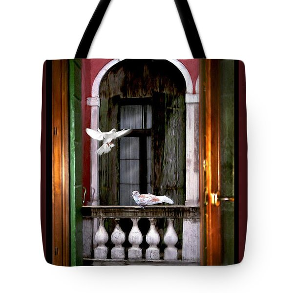 Venice Window Tote Bag
