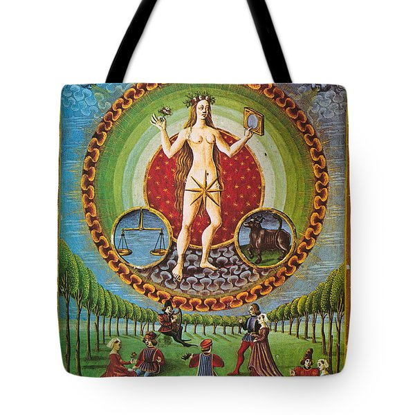 Venus Ruler Of Taurus And Libra Tote Bag by Photo Researchers