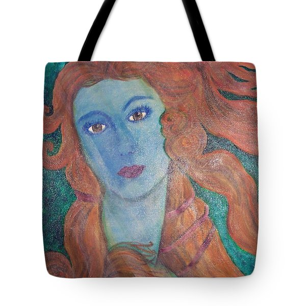 Venus's Haze Tote Bag by Lucia Grilletto