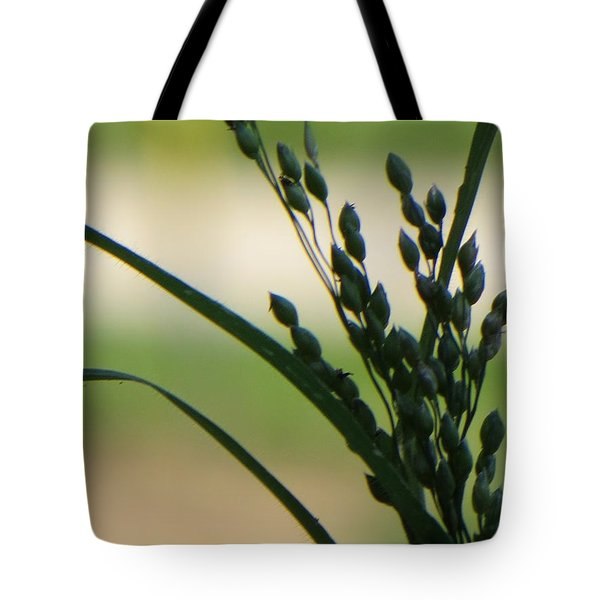 Verdant Grain Tote Bag by Sonali Gangane