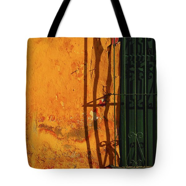 Verde Jaula Tote Bag by Skip Hunt
