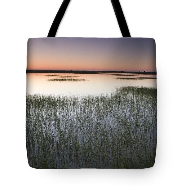 Vernal Pool At Sunrise Jepson Prairie Tote Bag by Sebastian Kennerknecht