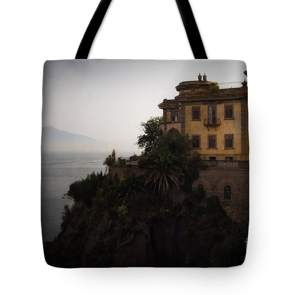 Vesuvius From Sorrento Tote Bag