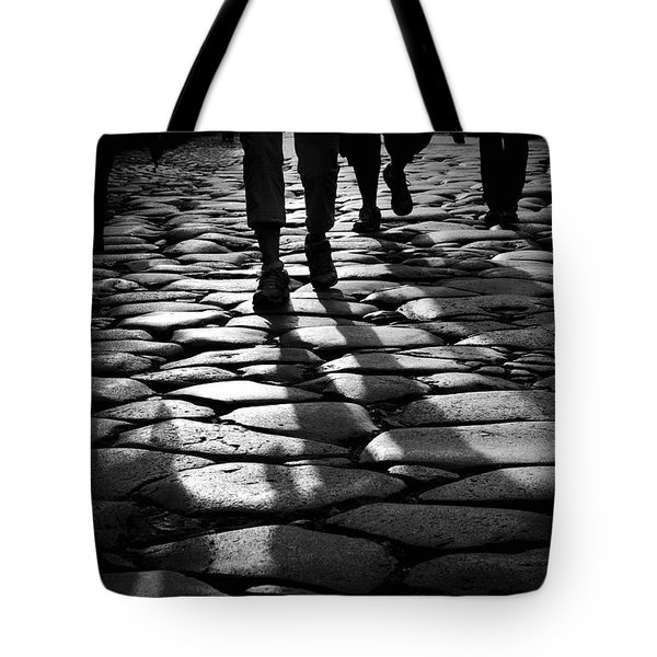 Via Sacra Tote Bag by Fabrizio Troiani