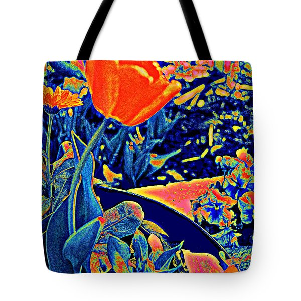 Vibrating Spring Tote Bag