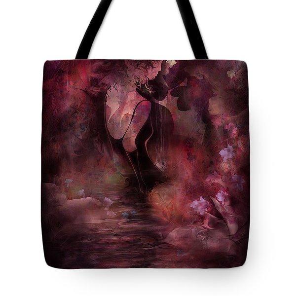 Victorian Dreams Tote Bag by Rachel Christine Nowicki