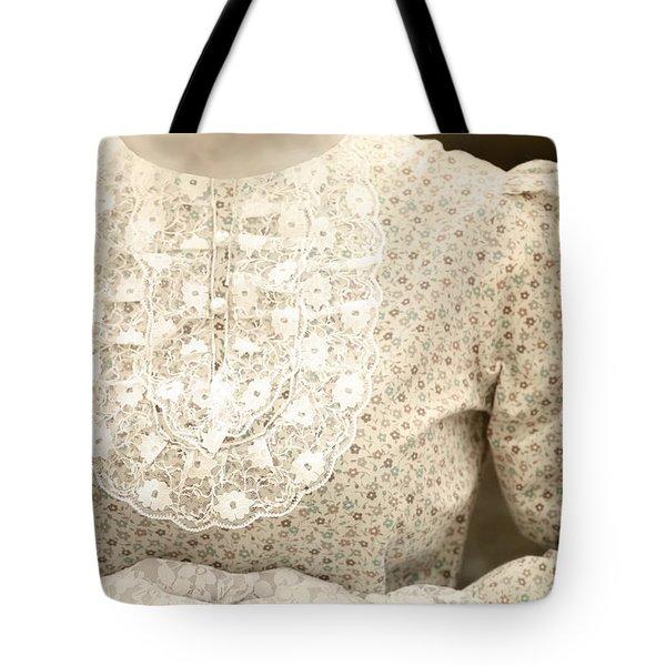Victorian Dress Tote Bag by Joana Kruse