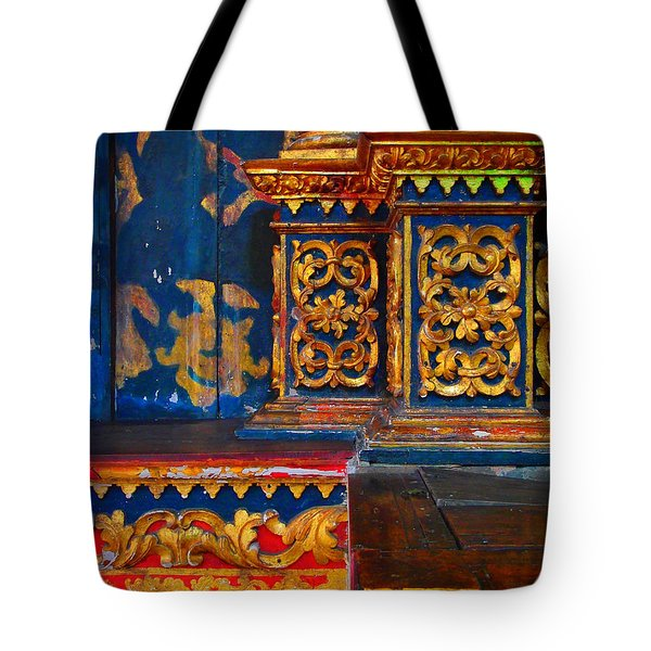 Viejo Tote Bag by Skip Hunt