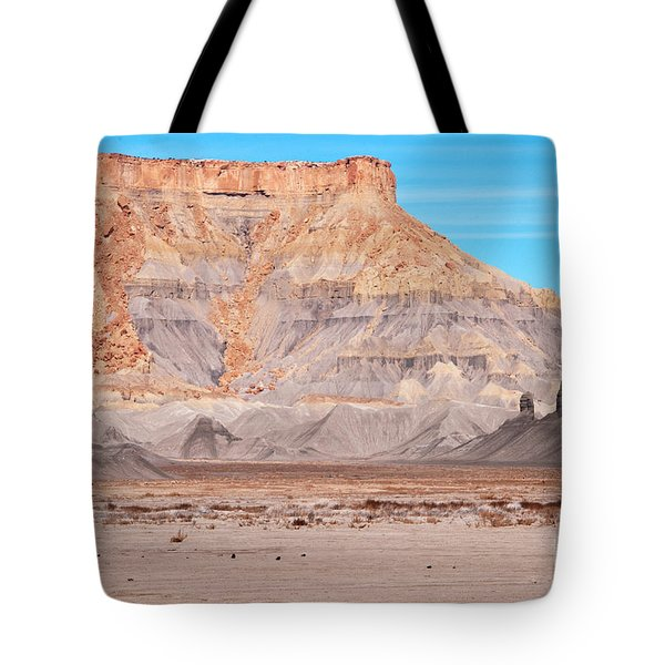 View Along Rt 12 In Utah Tote Bag by Bob and Nancy Kendrick