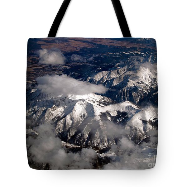 View From Above IIi Tote Bag by Patricia Griffin Brett