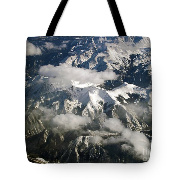 View From Above Tote Bag by Patricia Griffin Brett
