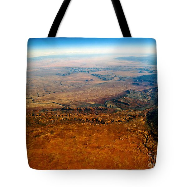 View From Above Vi Tote Bag by Patricia Griffin Brett