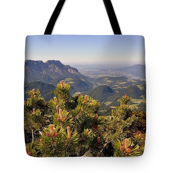 View From Eagles Nest Tote Bag by Rick Frost