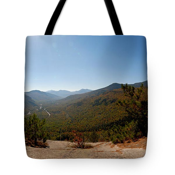 View From Frankenstein Cliff Tote Bag by Geoffrey Bolte
