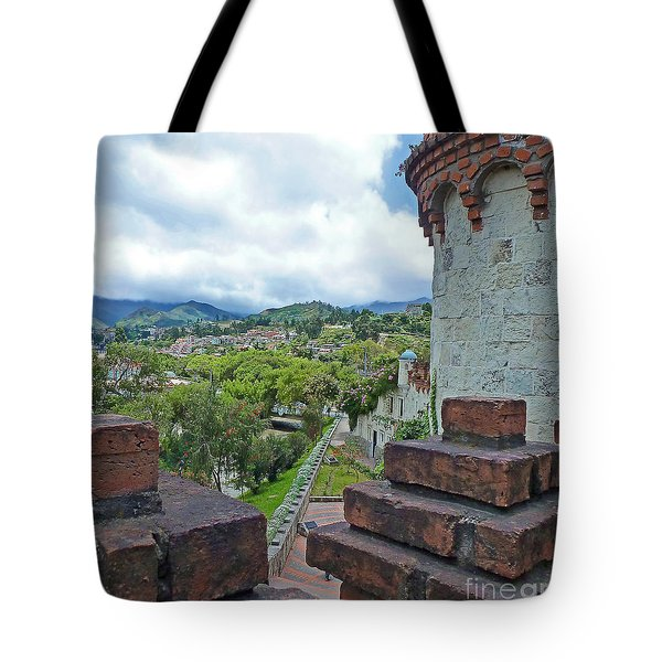 View From The City Walls - Loja - Ecuador Tote Bag