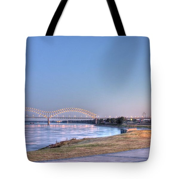 View From The Park Tote Bag by Barry Jones