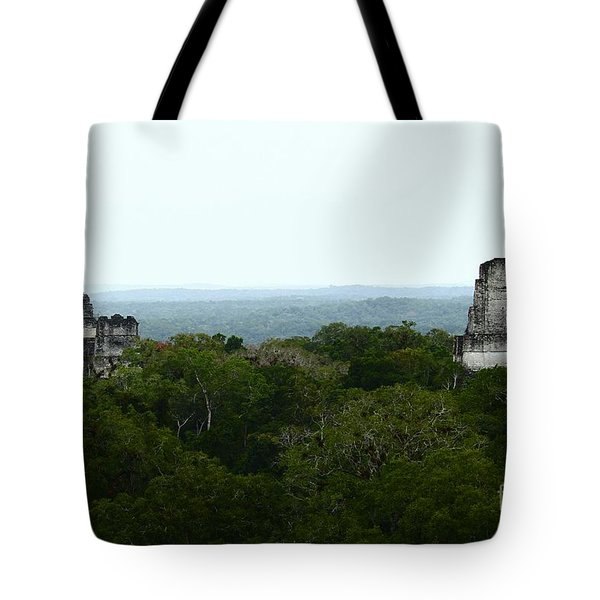 View From The Top Of The World Tote Bag by Kathy McClure