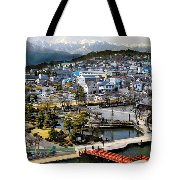 View Fromthe Top Tote Bag