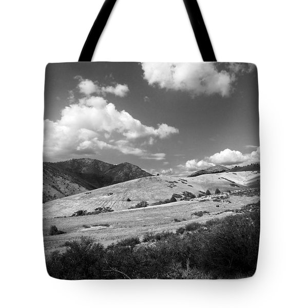 Tote Bag featuring the photograph View Into The Mountains by Kathleen Grace
