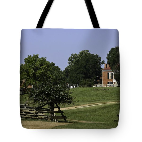View Of Appomattox Courthouse 1 Tote Bag by Teresa Mucha