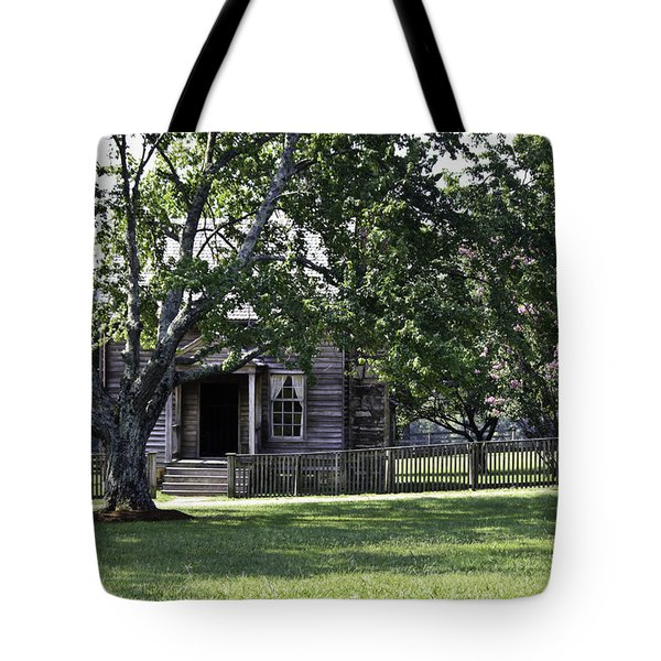 View Of Jones Law Offices Appomattox Virginia Tote Bag