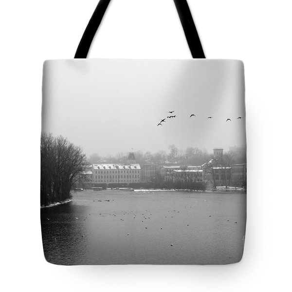 View Of The Mills Tote Bag