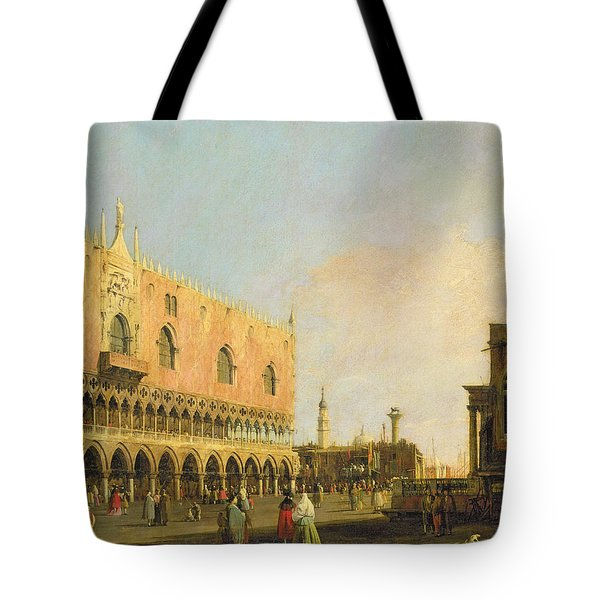 View Of The Piazzetta San Marco Looking South Tote Bag by Canaletto