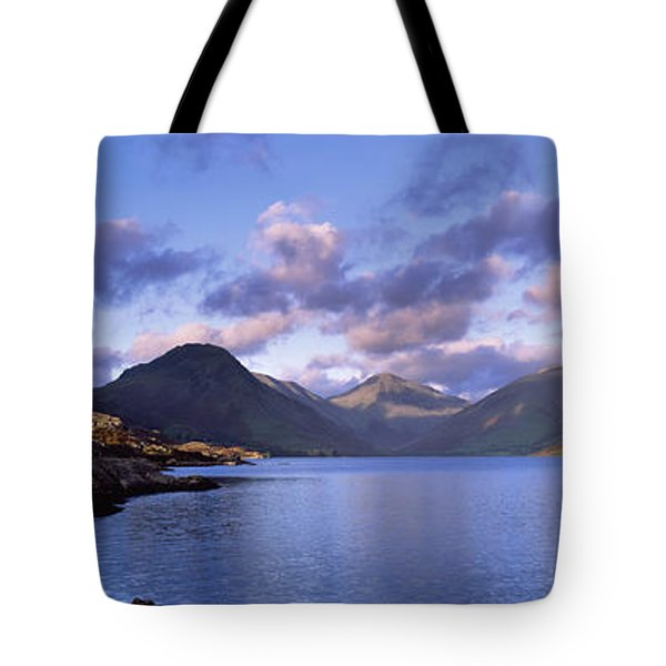 View Of Wastewater, Located In The Lake Tote Bag by Axiom Photographic