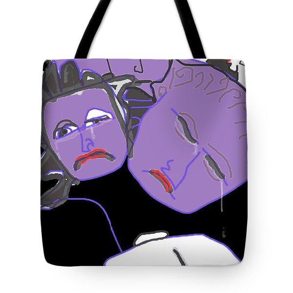 Viewing The Remains Tote Bag