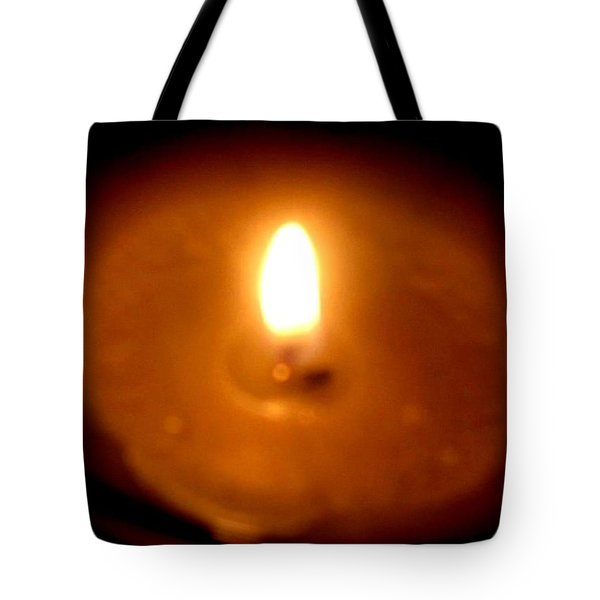 Tote Bag featuring the photograph Vigil by Maria Urso