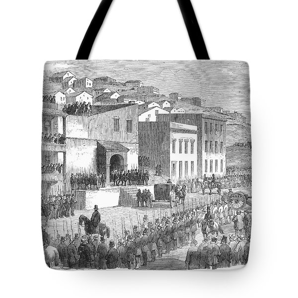 Vigilance Committee, 1856 Tote Bag by Granger