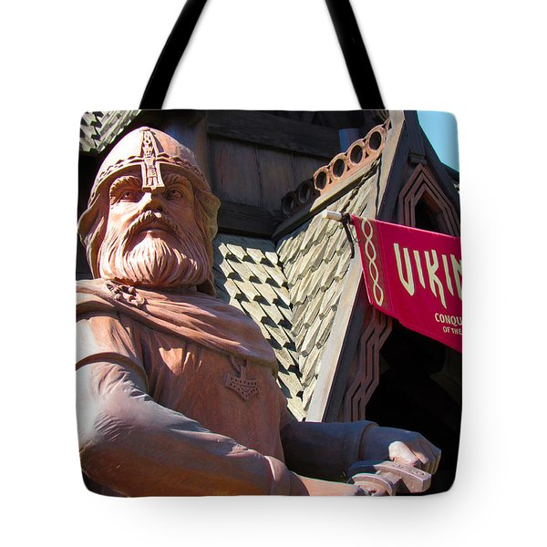 Vikings Conquerors Of The Sea Tote Bag