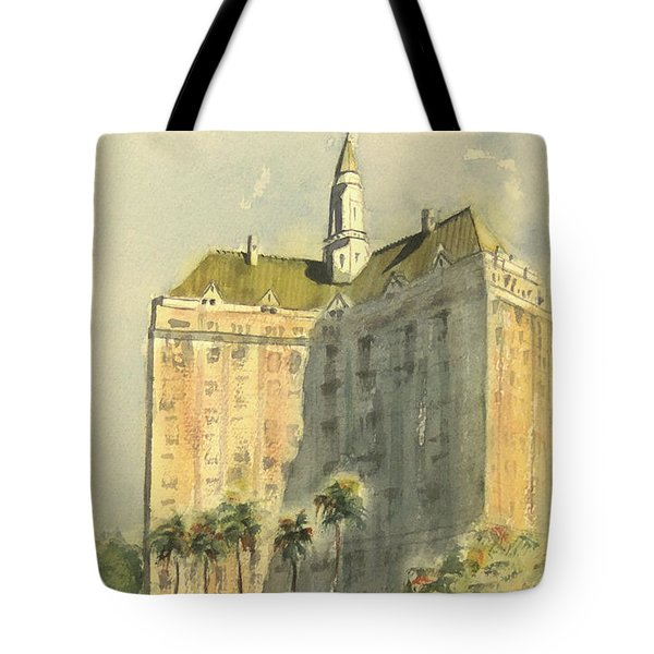 Villa Riviera Another View Tote Bag