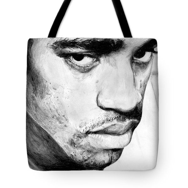 Vince Carter Tote Bag by Tamir Barkan