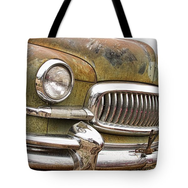 Vintage 1951 Nash Ambassador Front End 2 Tote Bag by James BO  Insogna