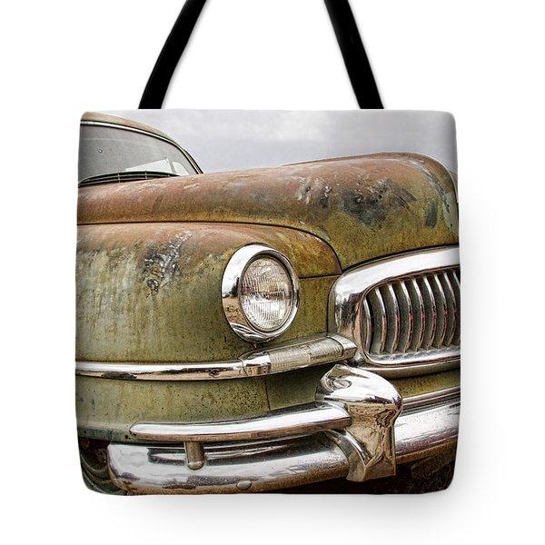 Vintage 1951 Nash Ambassador Front End Tote Bag by James BO  Insogna