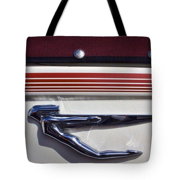 Vintage Auburn Automobile Mascot Tote Bag