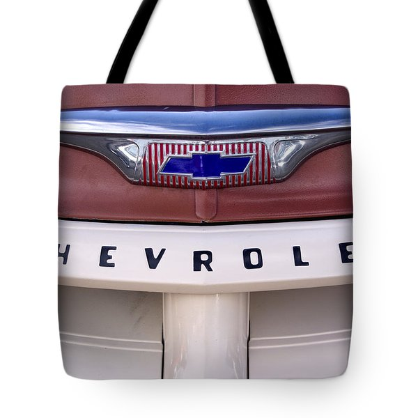Vintage Chevy Truck Tote Bag