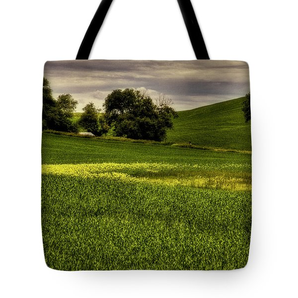 Vintage Palouse Country Tote Bag by David Patterson
